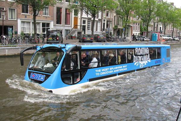 The Most Splashing Way To Discover Amsterdam Bij Rederij Lovers In