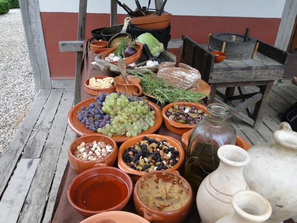 Het grote aanbod van fruit van de Romeinen in het Archeon