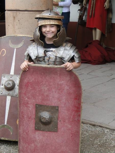 Verkleed jezelf als Romeinse soldaat in het Archeon