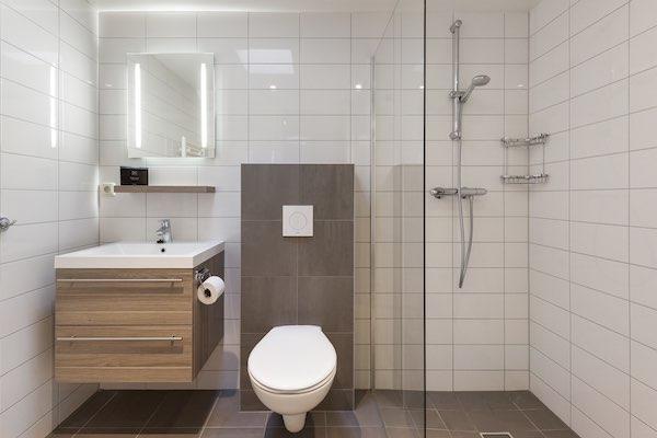 Toilet Met Douche : Badkamer met toilet en douche bij landal het vennenbos in hapert