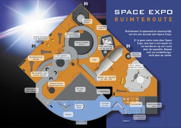 Plattegrond Space Expo