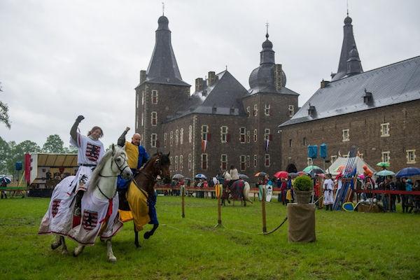 Riddertoernooi kasteel hoensbroek kasteel hoensbroek in for Werkbladen ridders en kastelen