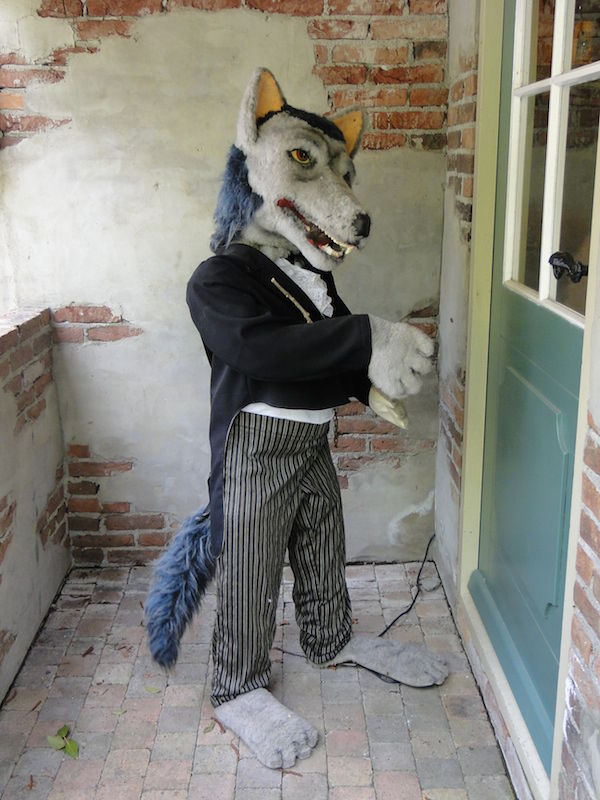De Grote Boze Wolf Bij Sprookjeswonderland In Enkhuizen Fijnuit Nl