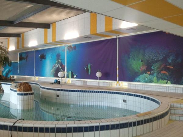 Zwembad De Does : Het recreatiebad met stroomversnelling bij zwembad de does in